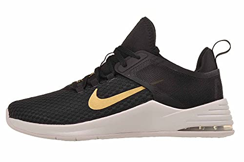 Nike Womens Air Max Bella TR 2 Fitness Running Shoes Black 8 Wide (C,D,W)