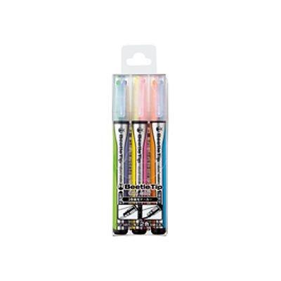 2色蛍光マーカー 3本セット (ビートルティップ・デュアルカラー) 品番:PM-L303-3S 注文番号:62191630 メーカー:コクヨ
