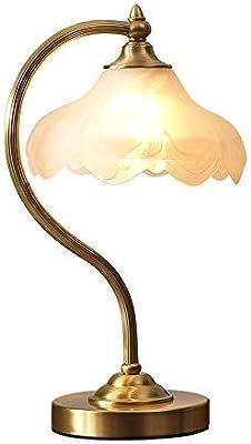 SACYSAC Lámpara de cabecera, lámpara de Mesa Decorativa de Cobre ...