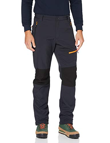 Cmp Pantaloni Softshell Termici, Uomo, Antracite, 56, Antracite