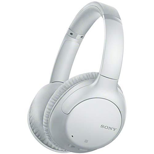 ソニー ワイヤレスノイズキャンセリングヘッドホン WH-CH710N : Bluetooth対応 最大35時間連続再生 マイク付き 2020年モデル ホワイト WH-CH710N W