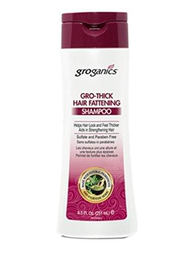 groganics DHT growthick pelo engorde Champú 236.57 ml