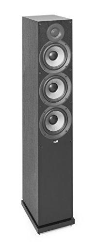 Elac Debut F6.2 Negro Altavoz - Altavoces (De 2 vías, Alámbrico, 39-35000 Hz, 6 Ω, Negro)