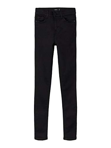 NAME IT Limited by Girl Jeans High Waist Skinny Fit 170Black Denim