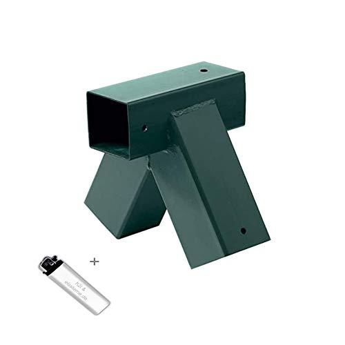 h2i Schaukelverbinder Vierkant 90/90 mm Grün