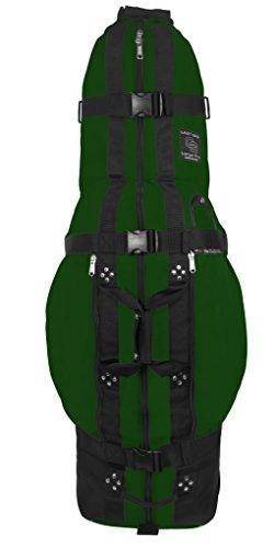 Club Glove The Last Bag Large Pro Golf Travelbag - Golf Travelcover mit Rollen (Grün)
