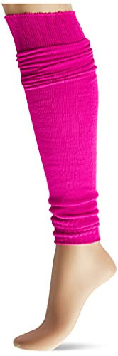Women's Hot Pink Leg Warmers for 80s Dress-Up by Smiffy's