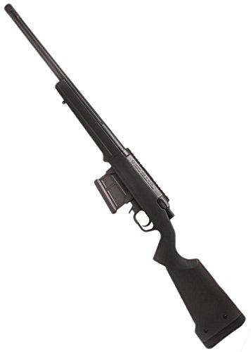 Ares, Amoeba Sniper Striker AS-01, fucile a ricarica manuale per softair, colore nero (0,5 joule)