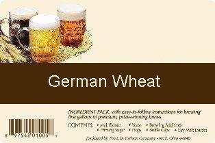 German Wheat All Grain Advanced Homebrew Beer Ingredient Kit