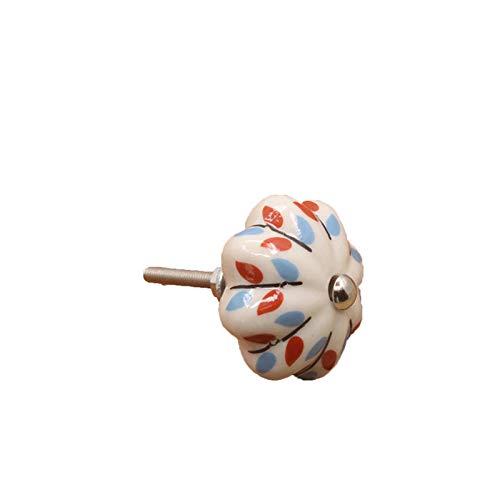 XCYY Maniglia per porta in ceramica per camera da letto, cassetto, armadio, camera da letto, armadietto, pomelli per porta, mobili e scatola per la decorazione della casa (colore 3)