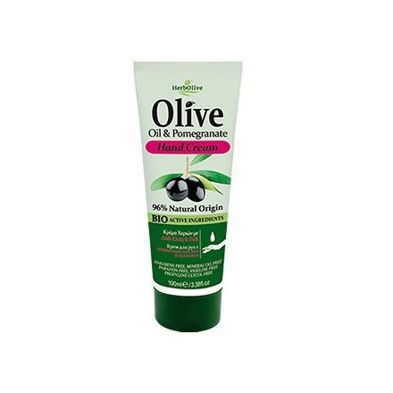 HerbOlive Handcreme *Olivenöl & Granatapfel* 100ml/40487