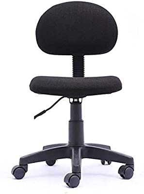 Simple Deluxe Task Office Chair Ergonomic Mesh Computer Chair with Wheels Adjustable Height Study Chair for Students Teens Men Women for Dorm Home Office,Black