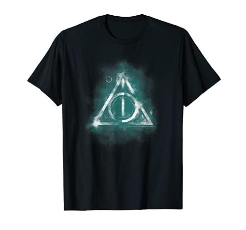 Harry Potter Geometric Deathly Hallows Camiseta