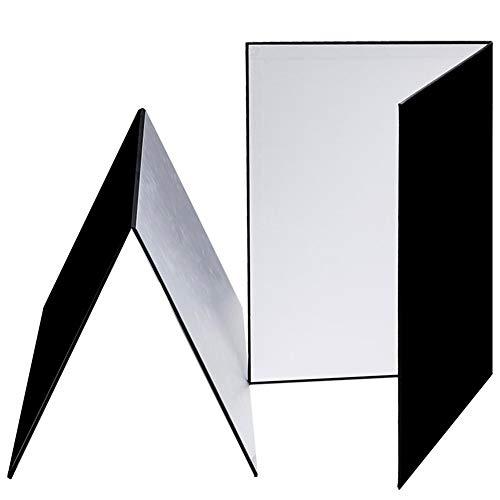 MSQL A3 Fotografie Reflektor, Faltbare Fotografie Reflektoren und Diffusoren, für Schmuck, Schmuck, Stillleben Produktaufnahmen