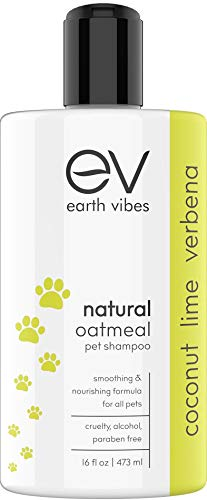 Earth Vibes Natural Oatmeal Pet Shampoo & Conditioner For Pets