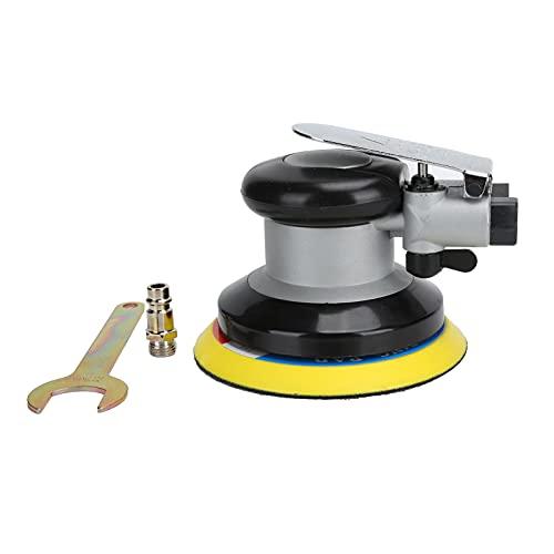 Herramienta de pulido, lijadora orbital Regulador de velocidad libre incorporado fácil de operar con mango de goma para el hogar