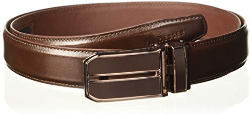 Van Heusen Men's Leather Belt (VHBLERGFF000033_Brown_Large)