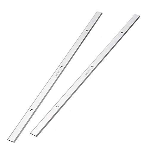WNJ-TOOL, 2 stücke Stahl industrieller hobeler Jointer Messer klingen doppelte kantige hegelblätter für hobel ap-12 ersatz 320 * 12 * 1,5 mm
