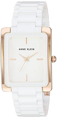 Anne Klein Reloj analógico para Mujer de con Correa en Cermica AK/2952WTRG