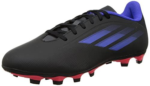 Adidas Unisex Synthetic X Sghosted.4 FxG Cblack/Sonink/Syello Football Shoes - 7 UK