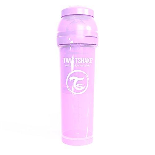 Twistshake 78264 - Biberón, color pastel morado