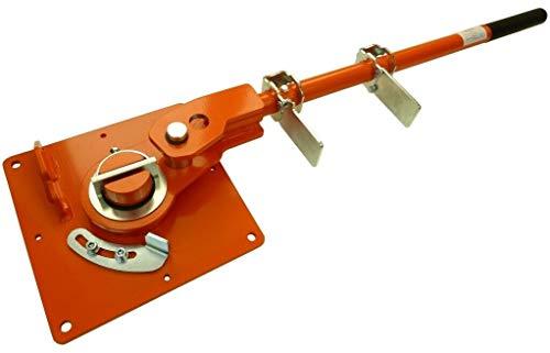 Biegegerät GRO-5 Handbiegemaschie Eisen 6-18mm Eisenstangen Biegemaschine Biegevorrichtung Formenbieger