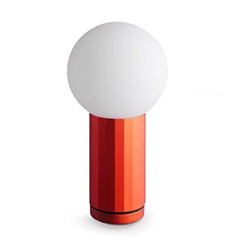 HAY Turn On Tischleuchte Orange, 19,5cm