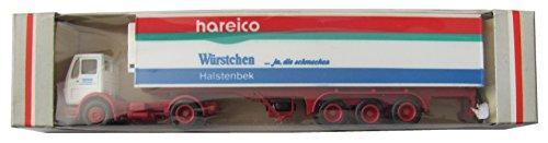 Albedo - Hareico Fleischwaren - Würstchen ja die schmecken - MB - Kühl-Sattelzug