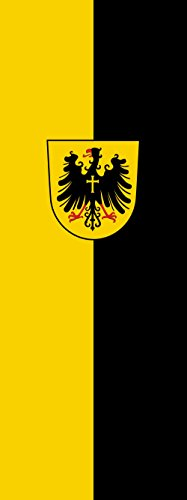 magFlags Drapeau Rottweil | Portrait Flag | 6m² | 400x150cm