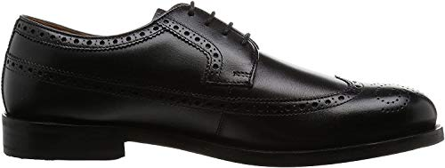 Clarks Coling Limit, Scarpe Stringate Derby Uomo, Nero (Black Leather-), 42.5 EU