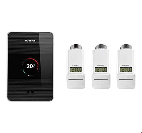 Buderus Logamatic TC100.2 - Termostato para radiador Bosch Smart Home 3
