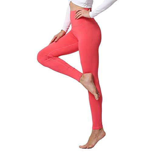 YUJIAKU Yogahosen Leggings für Fitness Push Up Hohe Taille Strumpfhosen Solide Polyester Laufen Gym Training Workout Frauen Sporthose