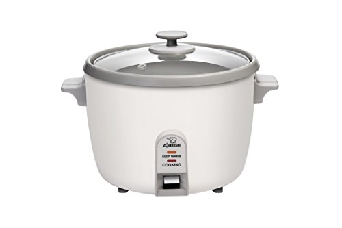 Zojirushi NHS-18 10-Cup (Uncooked) Rice Cooker,White