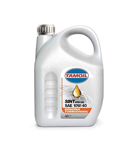Tamoil 9581 Olio per Auto SINT 10W40 B-D Lt.4