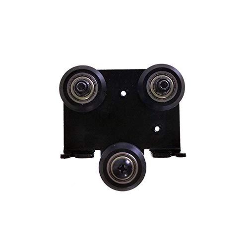 1set CR10 3D estrusore posteriore piastra di supporto con puleggia estrusione backplate per Creality Ender-3 Ender 3s Ender 3 Pro Cr-10 Cr-10S S4 S5 Series alluminio estrusioni Frame Stampanti 3D