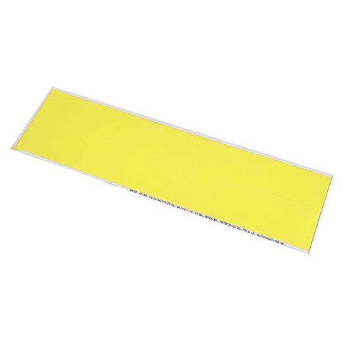 SALUTUYA Colores Brillantes y Hermosos, tamaño pequeño de 5 Colores, Hecho de Adhesivo de Flecha de Pegamento para neumáticos, Flecha de Tiro con Arco(Yellow)