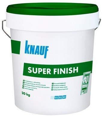 Stucco Super Finish 20 KG Knauf Cartongesso -Iaiadistribuzione