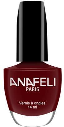 Anafeli Paris - Vernis à ongles No M10 - Bordeaux mat
