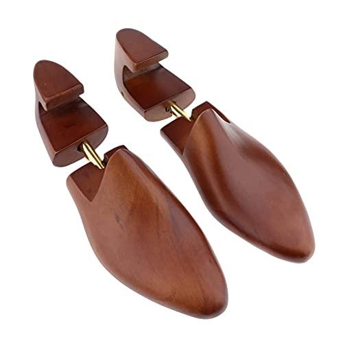 DSDD 2 Piezas Vintage Wood Shoe Trees Moldeadores de Zapatos para Hombre Camilla Shaper Keeper