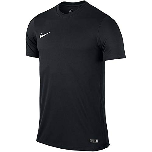 NIKE M Nk Dry Park VII JSY SS Camiseta de Manga Corta, Hombre, Black/White, L