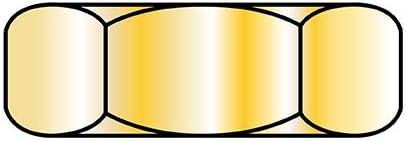 10-32X5 16X7 6 Small Pattern Hex Machine In a popularity Selling Yellow Nut Screw Zinc