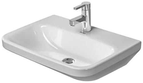 Duravit DuraStyle Waschtisch Med ohne Überlauf, 600 mm • 600 x 440mm, weiß mit Wondergliss 232460007