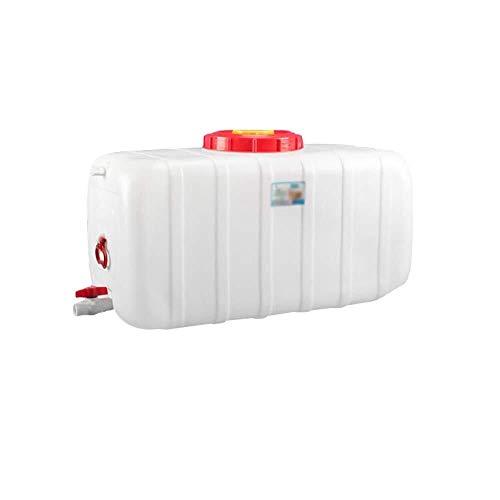 WGVFD 25L / 45L / 80L / 110L / 160L / 200L Wassertank mit Wasserhahn Dicker Kunststoff-Wasservorratsbehälter Eimer for den Außenbereich Chemisches Fass säure- und alkalibeständig (Size : 110l)