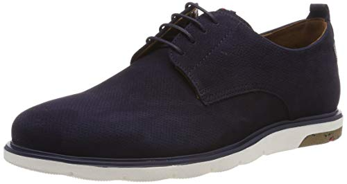 LLOYD Herren Haily Derbys, Blau (Midnight/Pacific 3), 43 EU
