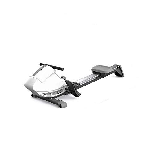 LYMHGHJ Rudergerät mit magnetischem Widerstand Heimfitnessgeräte Intelligentes, extrem leises Falten Magnetron-Rudergerät Gewichtsverlust Fettverbrennung