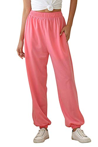 Onsoyours Women Cropped Stretch Bengaline Trousers Ladies Work Office Crop Capri Pants Formal 34 Length Elasticated Leggings Pull On Casual Tailored Shorts Treggings C Pink X Small
