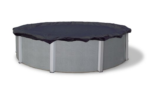 Blue Wave BWC704 Bronze 8-Year 18-ft Round Above Ground Pool Winter Cover,Dark Navy Blue