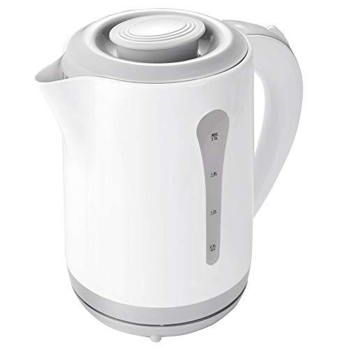 XL Wasserkocher 2,5 Liter Teekocher Wasserkessel Campingkocher 2200 Watt