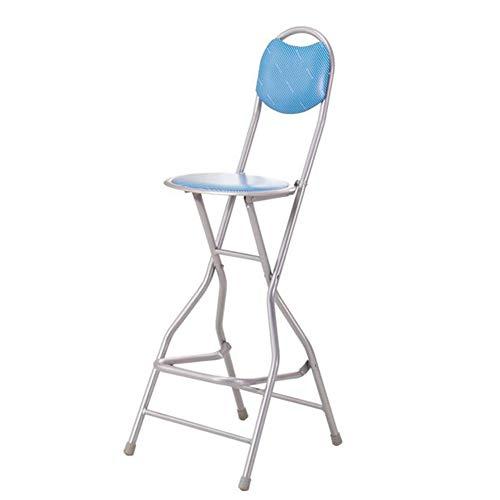 CCLC Opvouwbare barkruk, barkruk, achtervoetbrug, visstoel, hoge stoel, bar, ontvangst, barkruk, vishuishoudhoud, oververhoging ventiel ladder