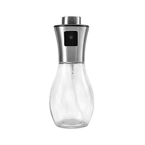 HAQTXI Aceite de Vidrio y dispensador de vinagre, rociador de Aceite Fácil Repuesto y Limpieza, Botella de Aceite de Vidrio Transparente Herramienta de Cocina